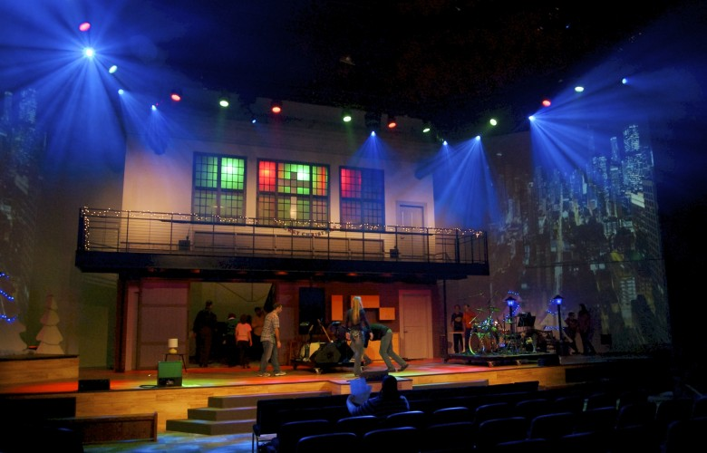 Chicago First Church Of The Nazarene Stage Lighting Jrld